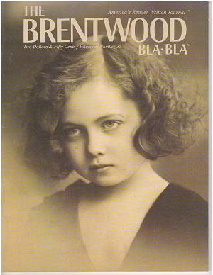 Brentwood Bla Bla Magazine, Volume 3, No. 35