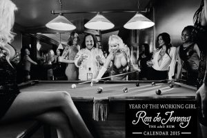 Ron Jeremy Working Girls Calendar 2015
